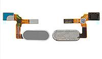 Шлейф для Huawei Honor 9 Lite Dual Sim (LLD-L31), с сканером отпечатка пальца (Touch ID), серого цвета