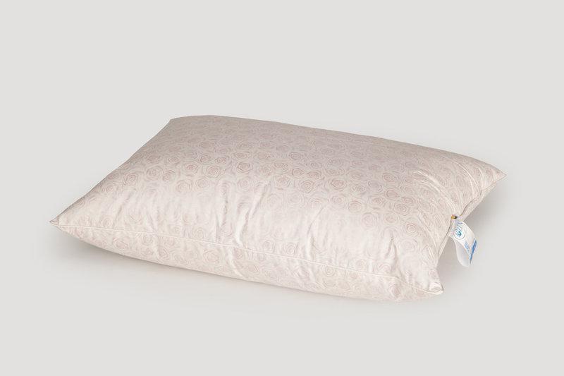 Подушка 10% пуху 90% дрібного пера ТМ IGLEN