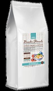 Сухой гипоаллергенный корм Home Food с форелью, рисом и овощами для собак крупных пород, 10 кг