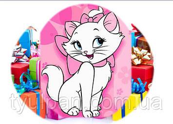 Вафельная картинка на торт Aristocats Kittens гламурная кошечка