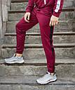 Спортивные штаны мужские бордовые с лампасами бренд ТУР модель Рокки(Rocky) размер XS, S, M, L, фото 3