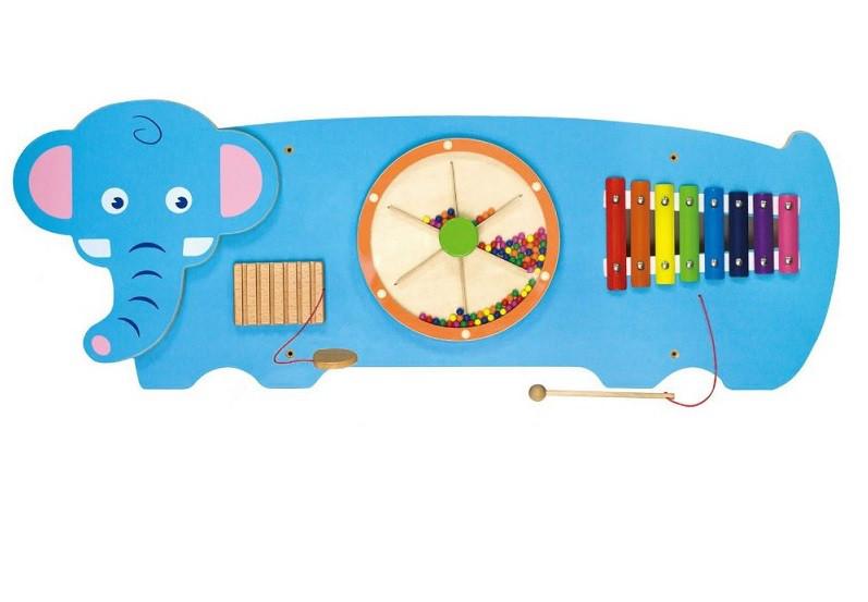 Игрушка настенная бизиборд Слон Viga toys (50472)