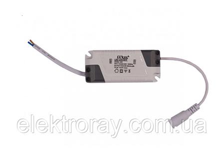 Светодиодный светильник Luxel 6W 4000k встраиваемый круглый белый, фото 2
