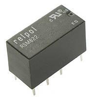 Миниатюрное сигнальное реле RSM822 до 2 Ампера на 24 постоянки