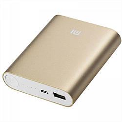 Портативное зарядное устройство  Power Bank Mi 10400mAh (золотой) Павер Банк