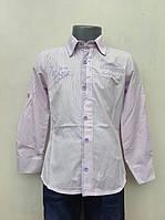 Рубашка подростковая для мальчиков 128,140,152,164 роста