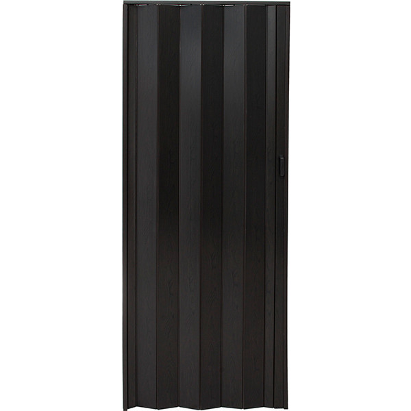 Двери-гармошка ПВХ Vinci Decor Melody 2030x820 мм эспрессо 6261