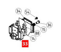 Кронштейн концевых микропереключателей ROBUS / RUN (PPD0600.4540)