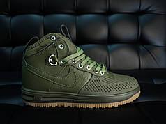 Кроссовки мужские Nike Duckвoot' зеленые топ реплика