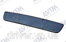 Зимня накладка (глянсова) Citroen Berlingo 1996-2003 (верх решітка)