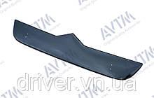 Зимня накладка (глянсова) Citroen Jumper 2007-  (верх решітка)