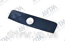 Зимня накладка (глянсова) Fiat Scudo 2007-  (верх решітка)