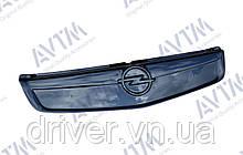 Зимня накладка (глянсова) Opel Vivaro 2006-2015 (верх решітка)