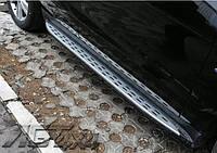 Пороги боковые (копия оригинала) на Mercedes ML W166