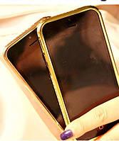 Черный Бампер Iphone 6 PLUS 5.5дюймов Сваровски, фото 1