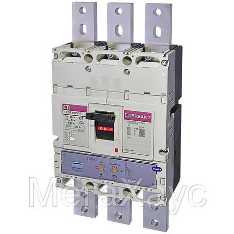 Промышленный автоматический выключатель ETI ETIBREAK  EB2 1000/3LE 1000A 3p (50kA), фото 2