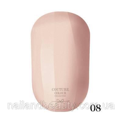 Гель-лак Couture Colour 9 мл №008 Цвет: светло-бежевый