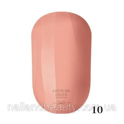 Гель-лак Couture Colour 9 мл №010 Цвет: приглушенно-абрикосовый