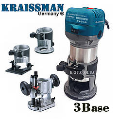 Фрезер -тример KRAISSMAN 910 OFT 6-8 (3-базы)
