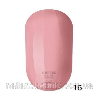 Гель-лак Couture Colour 9 мл №015 Цвет: розовая мечта