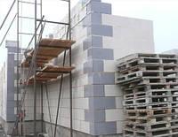 Кладка наружных и внутренних стен из газобетонных блоков