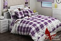 Комплект постельного белья полуторный ТМ Таg r2068 violet
