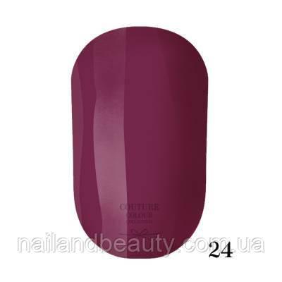 Гель-лак Couture Colour 9 мл №024 Цвет: ягодный