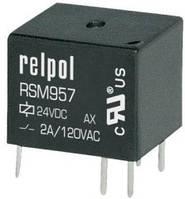 Миниатюрное сигнальное реле RSM957 до 2 Ампера на 12 постоянки