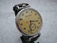 Копия Часы Молния, наручные. Механизм советский, от карманной Молнии, 3602