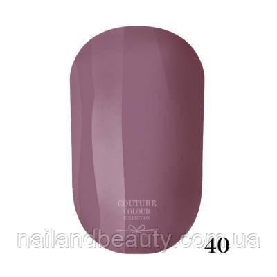 Гель-лак Couture Colour 9 мл №040 Цвет: светлый серо-фиолетовый