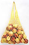 Сумка Авоська хлопковая - желтая, фото 2