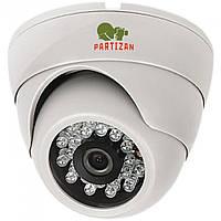 Купольная пластиковая видеокамера Partizan CDM-223S-IR v1.1