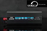 Преобразователь 2000W 12В-220В, фото 2