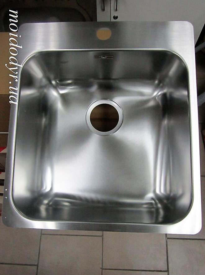 Мойка кухонная Blanco Supra  400-IF/A в столешницу из нержавеющей стали