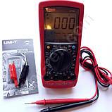 Цифровой автомобильный мультиметр UNI-T UT105 (UTM 105), фото 5