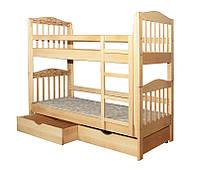 Детская кровать двухъярусная Двойняшки