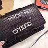Сумка-клатч Givenchy Дживанши качественная эко-кожа дорогой Китай черная