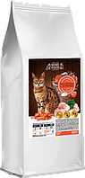 Сухой корм Home Food для взрослых котов и кошек с курицей и креветкой, 10 кг