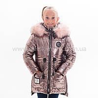 "Зимняя куртка для девочки ""Кира- зима "", Зима 2019 года, фото 1"