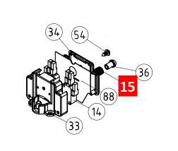 Пружина концевого ROBO/THOR/RB 12/13/15 (MO-D.2640)