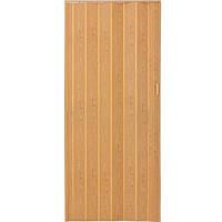 Двери-гармошка ПВХ Vinci Decor Melody 2030x820 мм светлый дуб 6367