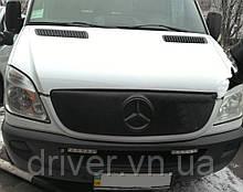 Зимня накладка матова Mercedes Sprinter 2006-2014 (решітка)