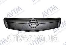 Зимня накладка матова  Opel Vivaro 2006-2015 (верх решітка)