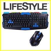 Комплект беспроводная клавиатура + мышка UKC HK8100