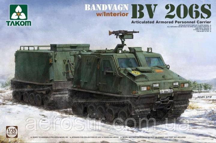Bandvagn BV 206S 1/35 Takom 2083