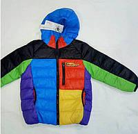 Детская демисезонная куртка на мальчика р. 3-6 лет