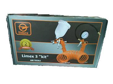 """Набор пневмоинструмента Limex 3 """"KIT"""""""
