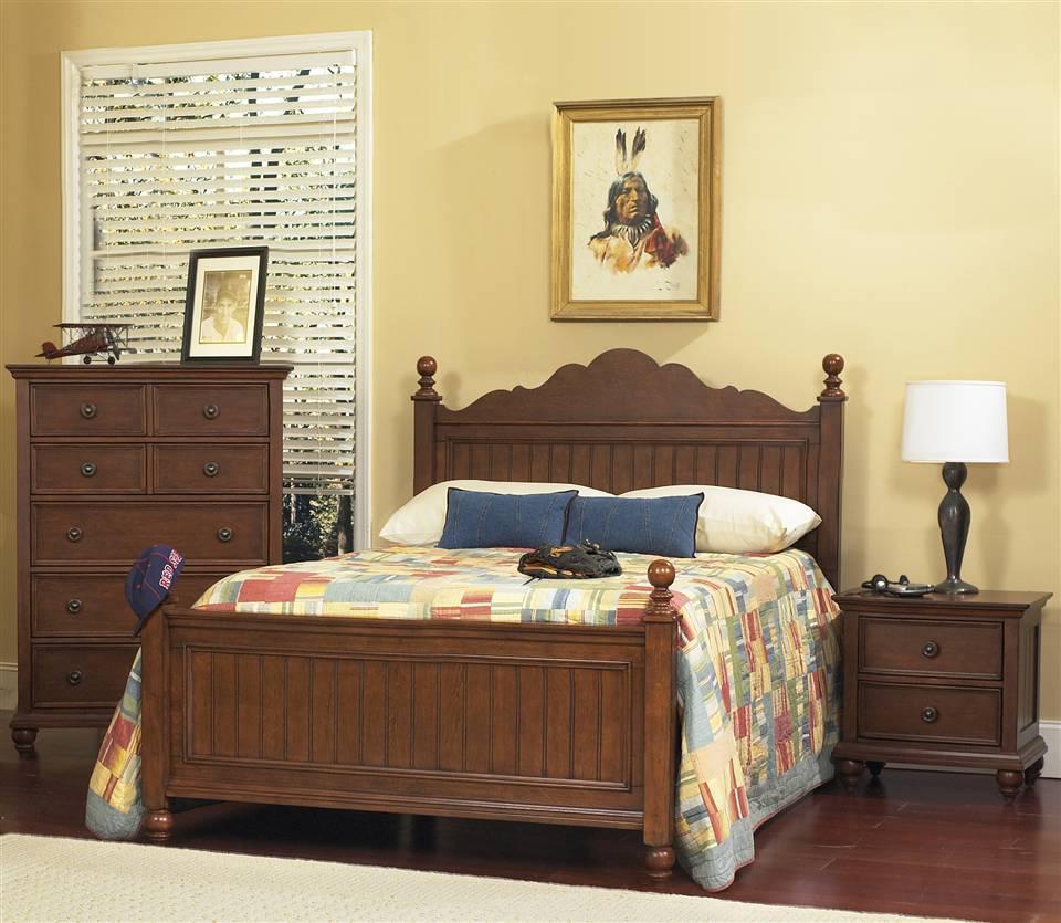 """Двухспальная кровать из дерева """"Кастро"""""""