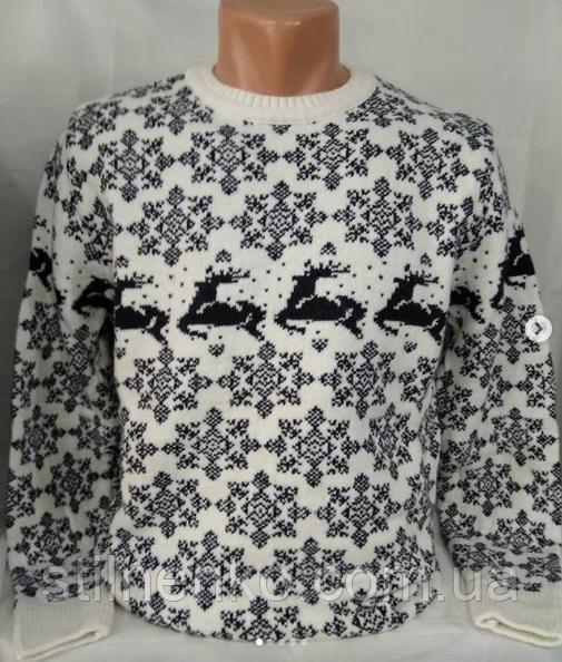 ◾️ Мужской свитер с оленями◾️