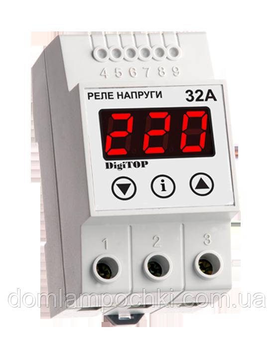 Реле напряжения DigiTop Vp-32A DIN